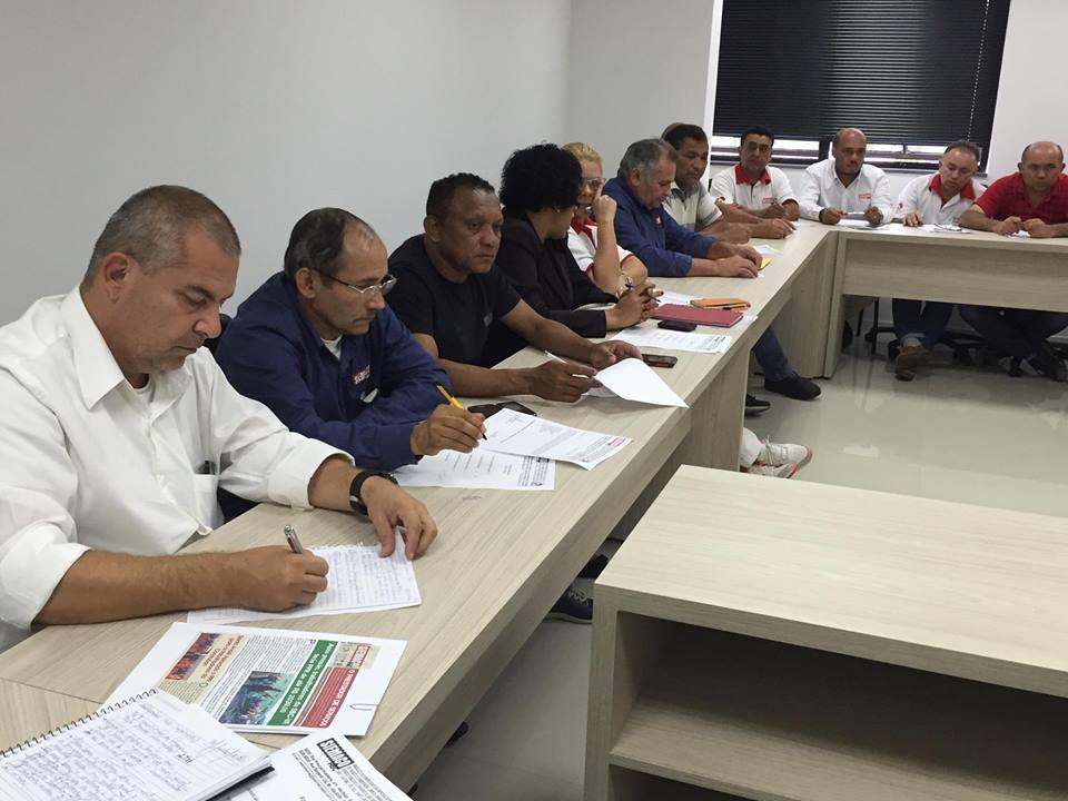 Reunião com toda a diretoria do Sindicato – 06/07/17