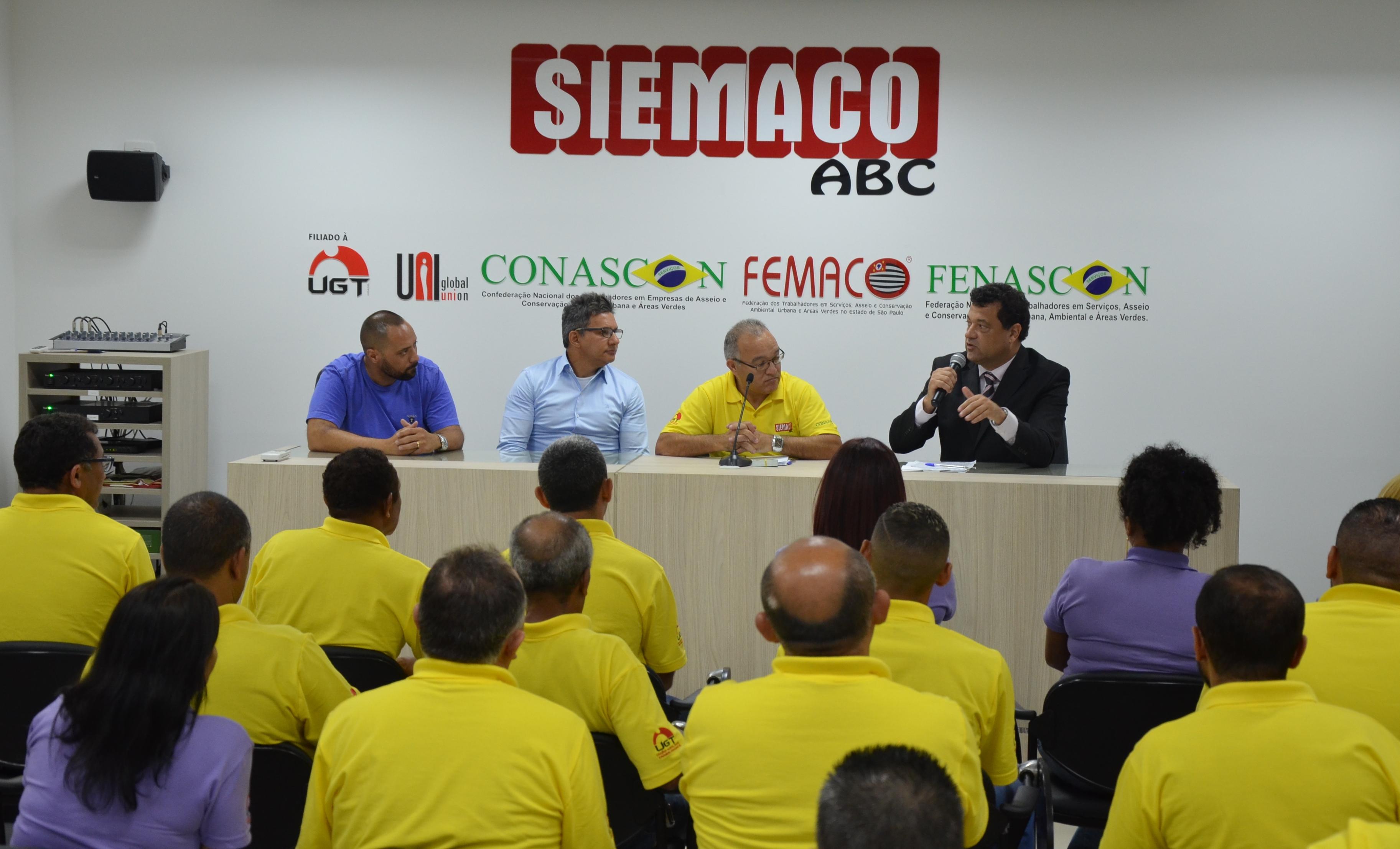 Nova diretoria do SIEMACO ABC toma posse e reafirma compromissos