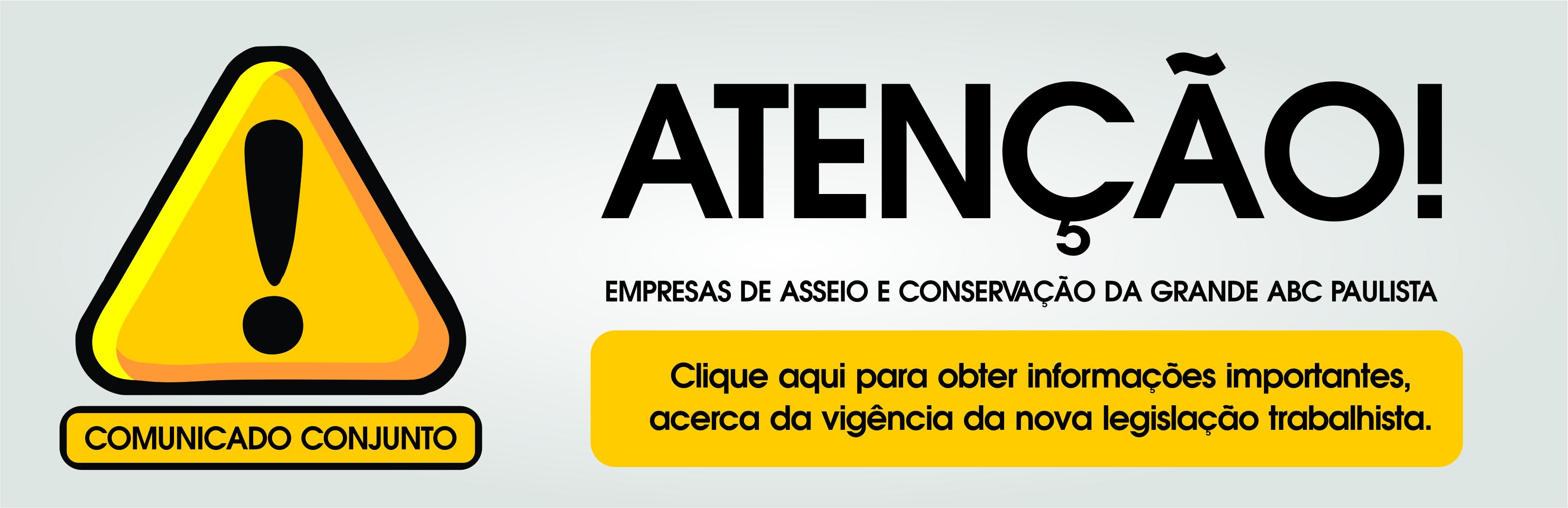 Banner nova lei trabalhista