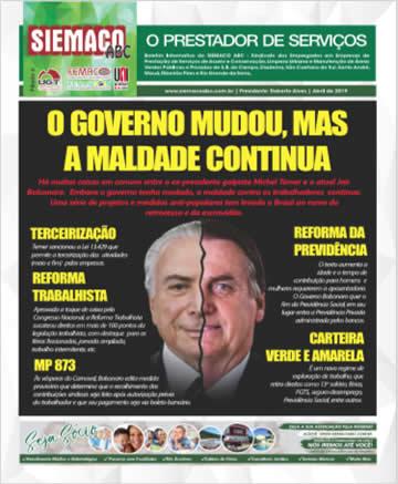Jornal Março e Abril/2019