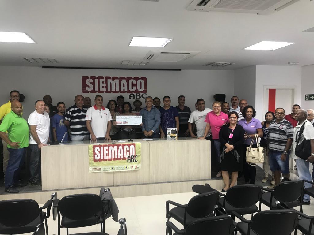"""Siemaco ABC promove mais um grande sorteio do projeto """"Sindicalização Premiada"""""""