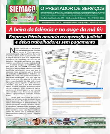 Jornal Julho e Agosto/2019