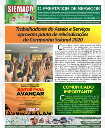 Jornal Out. e Novembro/2019